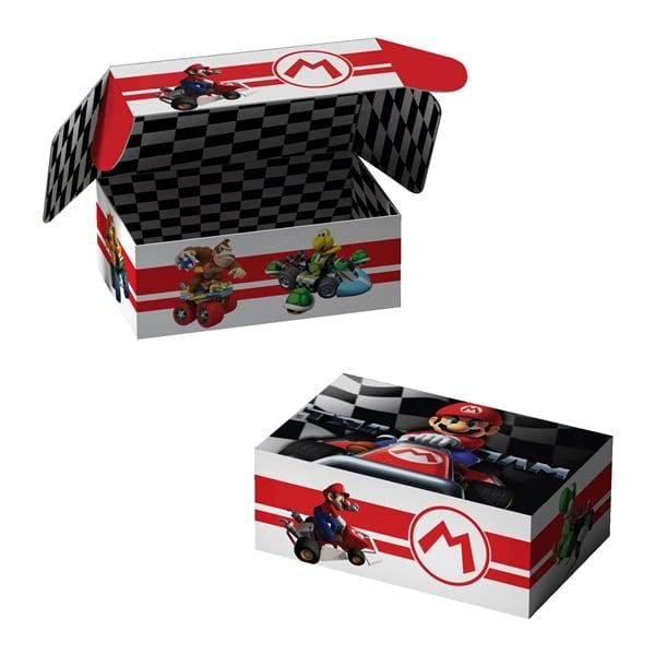 Mario Cart Box Design
